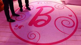 Pink, soweit das Auge reicht: der Eingangsbereich des Traumhauses.