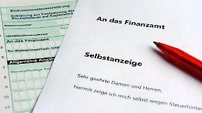 Straffreiheit für Steuersünder: Wann ist Selbstanzeige möglich, wann nicht?