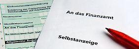 Selbstanzeige von Steuersündern: Wann ist sie möglich, wann nicht?