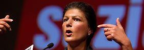 Sahra Wagnknecht ist seit 2011 stellvertretende Parteivorsitzenden der Linken.