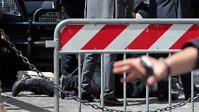 Neue Regierung in Italien: Während Amtseinführung fallen Schüsse