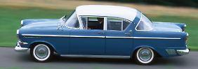 Der Opel Kapitän P1 wurde von 1958 bis 1959 gebaut.