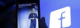 Einst Achillesferse, jetzt Boomfaktor: Facebook wächst dank Smartphones