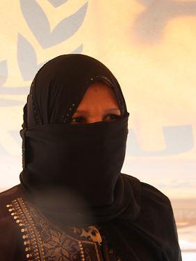 Hamda lebt seit August im Flüchtlingslager.