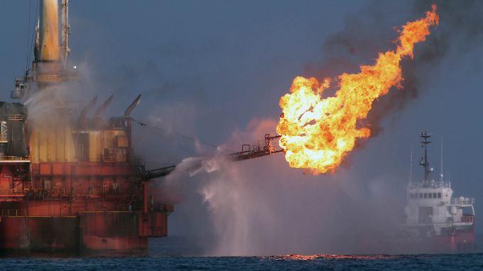 """Explosion der """"Deepwater Horizon"""": Notalarm war mit Absicht aus"""