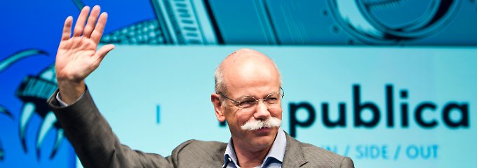 Gefühltes Heimspiel: Dieter Zetsche bei der re:publica.