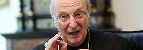 Weihnachten ist Schluss: Kardinal Meisner tritt ab
