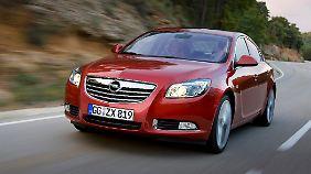 Beim Euro-NCAP-Crashtest heimste der Insignia fünf Sterne ein.