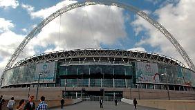 Das Ziel aller Träume ist das Wembley-Stadion. Hier findet am 25. Mai das deutsche Finale statt.