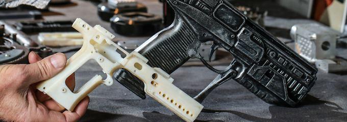 So sieht die gedruckte Pistole aus