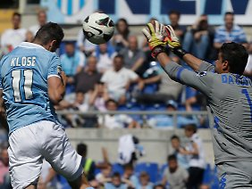 Miroslav Klose bleibt ohne Torerfolg.