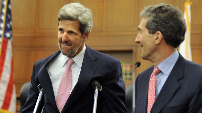 John (li.) und Cameron Kerry.