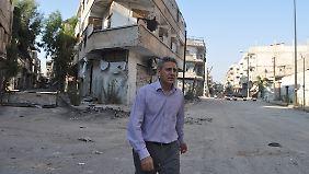 Muhannad Hadi ist der Nothilfekoordinator für die Syrienkrise des UN World Food Programme (WFP).
