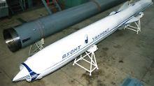 """Ein Archivbild einer Jachont-Rakete aus dem Jahr 1997, damals veröffentlicht von """"Jane's Defense Weekly""""."""