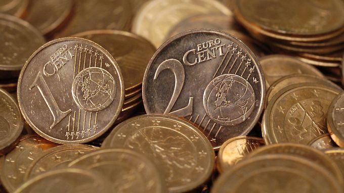 Kosten in der Herstellung mehr, als sie wert sind: Ein- und Zwei-Cent-Stücke