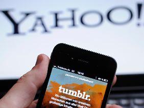 Auf dem Smartphone oder am PC - wer Tumblr nutzt, hat nun auch Yahoo bei sich.