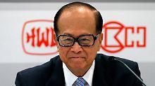 Konzernlenker mit Hornbrille und außergewöhnlichem Spürsinn für ertragreiche Chancen: Hutchison-Chef Li Ka-shing.