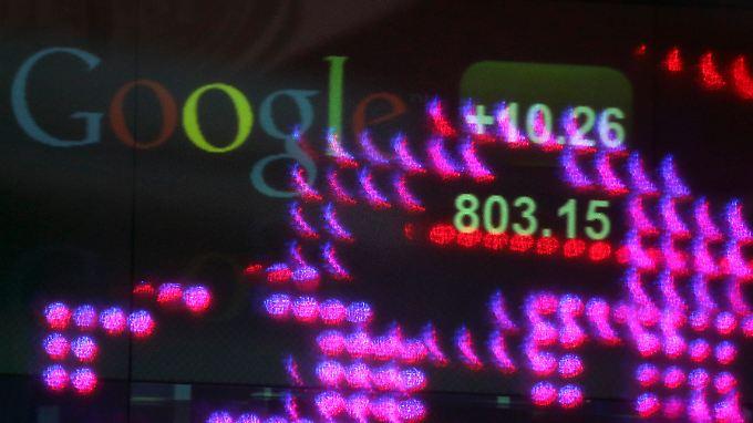 Google war mit einem Anteil von rund 15 Prozent Marktführer im 15 Milliarden Dollar schweren Internet-Werbemarkt.