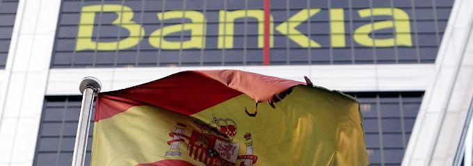 Die Bankia musste verstaatlicht werden.
