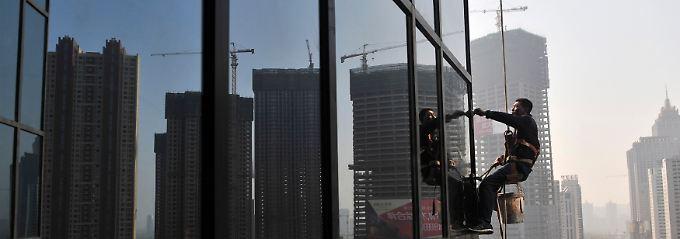 Rasanter Wandel: Überall in der Volksrepublik zeugen neue Wolkenkratzer vom Beginn einer neuen Zeit.