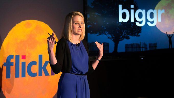 Größer, schneller, weiter: Yahoo-Chefin Mayer macht ordentlich Tempo