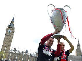 Egal wer den Pokal gewinnt - nach dem Finale wollen beide Fanlager gemeinsam feiern.