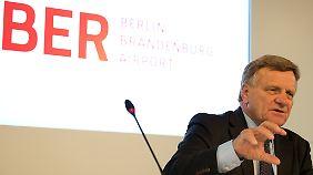Teuerste Baustelle der Republik: Mehdorn will BER-Teileröffnung noch 2013
