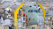 A350-Produktion in Toulouse.