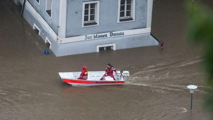 In Passau ist die Lage dramatisch.