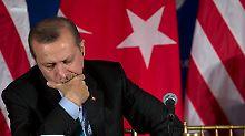 Seit März 2003 türkischer Ministerpräsident: Recep Tayyip Erdogan.