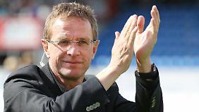 Ralf Rangnick ist Sportdirektor beim Retortenklub aus Leipzig - und jetzt wieder drittklassig.