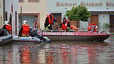 Bürger flüchten vorm Hochwasser: Und wieder trifft es Grimma