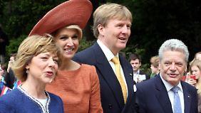 Hollands Wirtschaft schwächelt: Königspaar sucht den Schulterschluss mit Deutschland