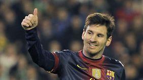 Barcas Neuerwerb findet auch Weltfußballer Messi erste Sahne.