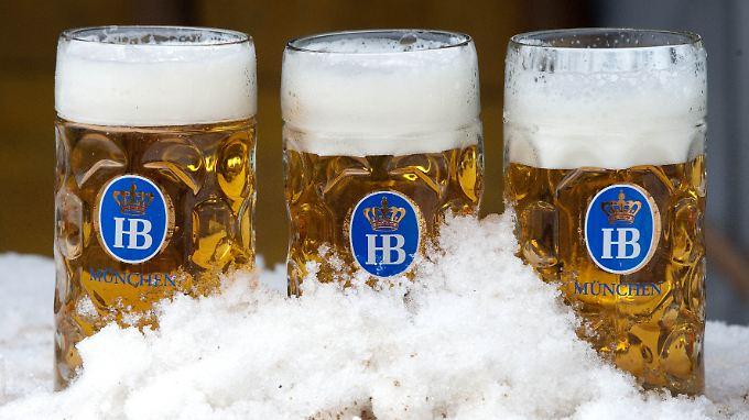 Eisgekühlter Biergenuss bekam in diesem Frühjahr eine ganz neue Bedeutung.