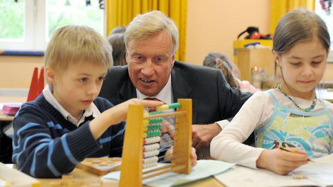 Es geht wohl nicht nur um die Zukunft der Hamburger Schüler, sondern auch um die Zukunft von Ole von Beust.
