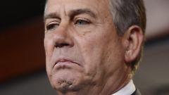 Boehner wettert gegen Obama.