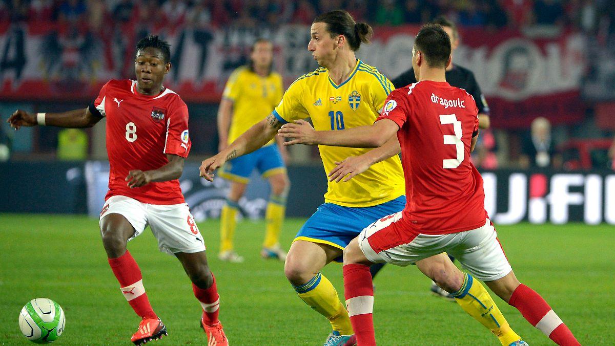 österreich gegen schweden