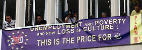 Arbeitslosigkeit steigt über 27 Prozent: Griechenland markiert traurige Rekorde