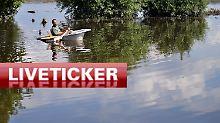 Hochwasser-Liveticker vom Donnerstag: +++ 21:35 Konzert der Toten Hosen findet statt +++