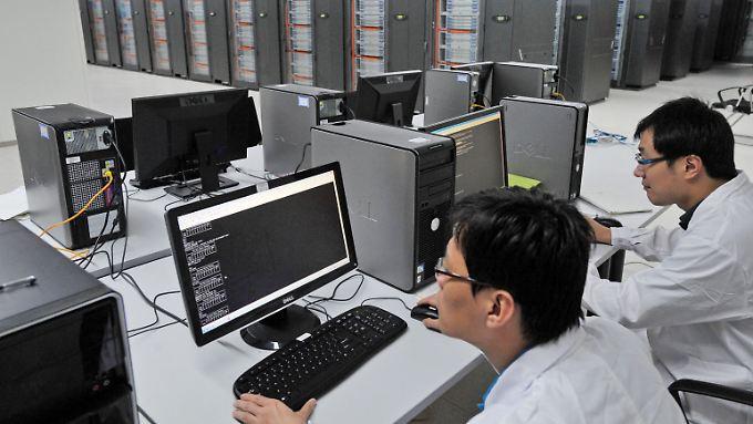 Tianhe-1A: Schon mit dem Vorgängermodell von Tianhe-2 lag China auf Platz 1 der Liste - das war Ende 2010.