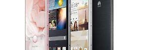 Auch auf dem deutschen Markt gibt es Smartphones von Huawei.