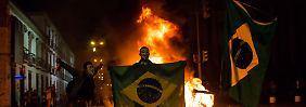 """""""Haben die WM nicht Brasilien aufgezwungen"""": Fifa-Boss Blatter kanzelt Proteste ab"""
