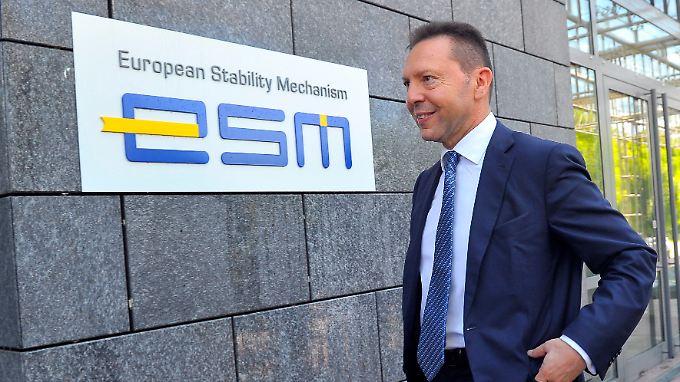 Griechischer Finanzminister Stournaras vor ESM: Der Rettungsschirm darf Pleitebanken künftig direkt helfen.