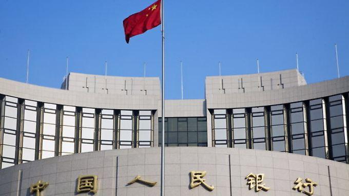 Chinas Zentralbank macht die Märkte nervös