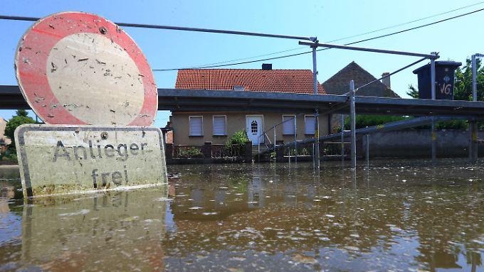 Die Bahn hat offenbar das Flutrisiko deutlich unterschätzt.