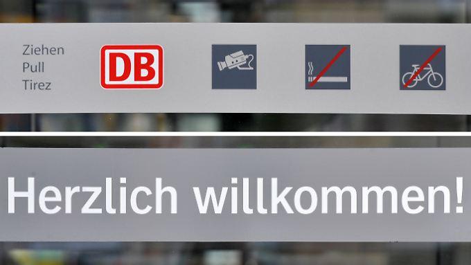 Die Bahn will die deutsche Sprache pflegen.