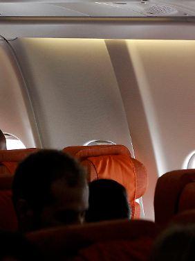 Der leere Platz im Flugzeug, der offenbar für Snowden reserviert war.
