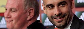 Präsentation von Pep Guardiola: Guten Tag und Grüß Gott!
