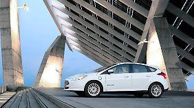 Eine Batterieladung soll beim Ford Focus Electric für 162 Kilometer reichen.